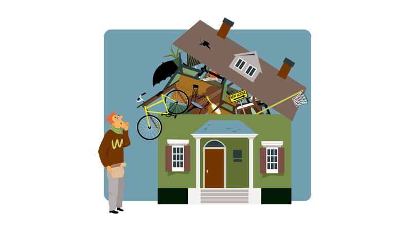 Opmagasinering af ejendele