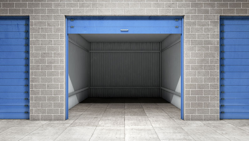 Self storage er en ny trend